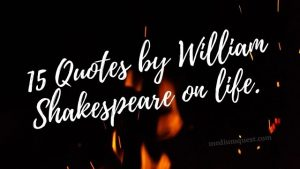 Quotations by Shakespeare