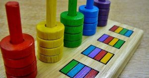 Colorful Logic Yellow stick Child Game