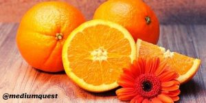 oranges and flower